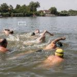 Nyíltvízi úszóverseny Csongrádon