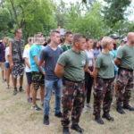 Honvédelmi tábor- a Damjanich laktanyában