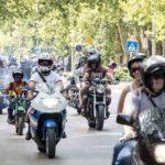 Látványos motoros felvonulás Csongrád főutcáján