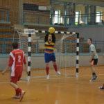 Megyei kispályás foci  a sportcsarnokban