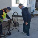 Kerékpár regisztráció az idősek klubjában