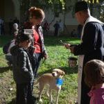 Kisállat szentelés a Plébániakertben – videóval