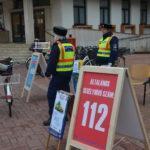 Bűnmegelőzési pontok működtek a városban