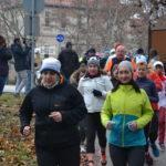 Közel százan futással búcsúztak az óévtől