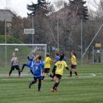 A Kinizsi női focistáinak nem sikerült a bravúr