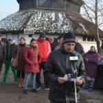 Sajtótájékoztató a helyi romáknál