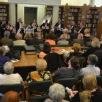 Zsinagóga koncert a könyvtárban