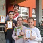 Szentesi sikerek a Curie matematika versenyen