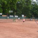 Nagyüzem a szentesi teniszpályán