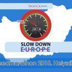 Fokozott sebesség ellenőrzések – Speedmarathon 2018.