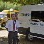 Kormányablak helyett kormányablak-busz Csongrádon
