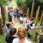 Székely-magyar összefogással avattak kopjafát Nyergestetőn