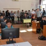 A jövőjüket programozták a diákok a Pollák-ban