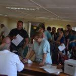 Több mint nyolcvanan adtak ma vért a Legrand-nál