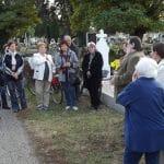 A szentesi emlékhelyekhez látogattak a Körsétán