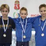 Fiatal úszóink remek szereplése